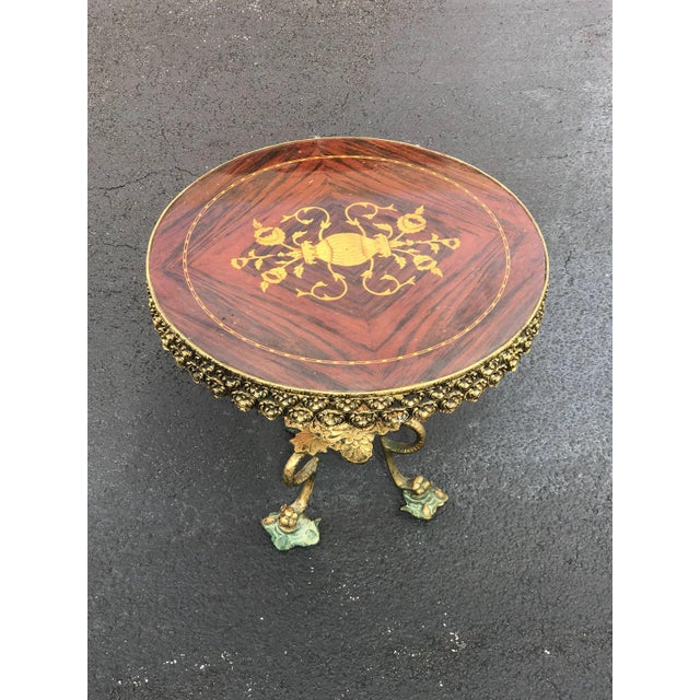Pair of side tables with gorgeous styling. Very good condition. Made in the 1940s.