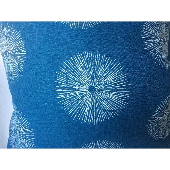 "Groundworks ""Sea Urchin"" Pillows - a Pair For Sale - Image 4 of 5"
