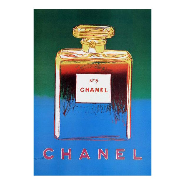 Art Deco Warhol Chanel No. 5 Poster For Sale - Image 3 of 3
