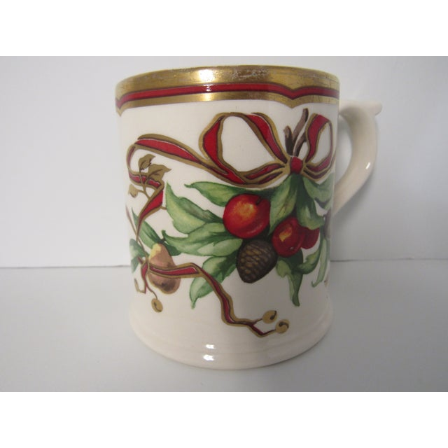 Tiffany and Co. Christmas Mugs by Tiffany & Co - A Pair For Sale - Image 4 of 13