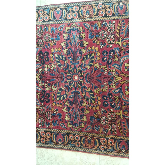 Brightly Colored Persian Rug - 3′4″ × 5′1″ - Image 4 of 4