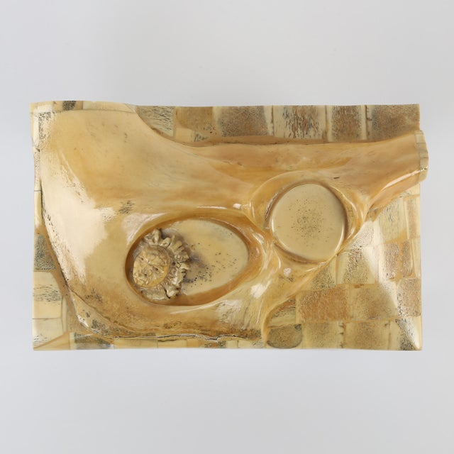 GENE JONSON AND ROBERT MARCIUS BONE AND NICKEL BOX, CIRCA 1970S - Image 6 of 10
