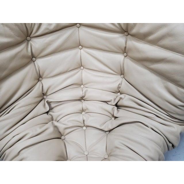 Mid Century Medern Togo Sofa Set by Michel Ducaroy for Ligne Roset - 5 Piece Set For Sale - Image 9 of 11