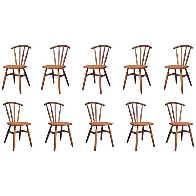 Handcrafted Studio Windsor Chair by Fabian Fischer, Germany, 2019 For Sale - Image 6 of 6