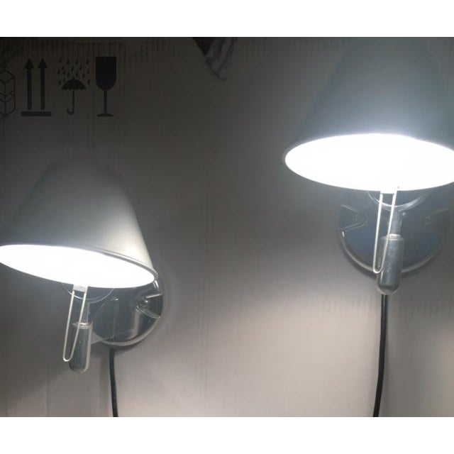Artemide Tolomeo Classic Wall Lights - A Pair - Image 4 of 7