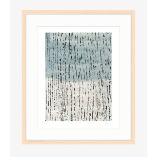 "Shorelines II - Watercolor Print - 24"" X 30"" - Image 2 of 4"
