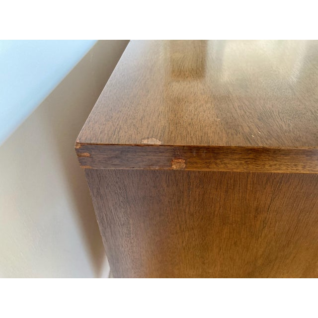 Mid 19th Century Mid Century Modern Bassett 9 Drawer Lowboy Dresser For Sale - Image 10 of 12