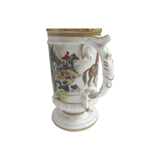 Italian Equestrian Beer Stein For Sale In Los Angeles - Image 6 of 7
