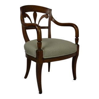 Italian Armchair From the Regency Period For Sale