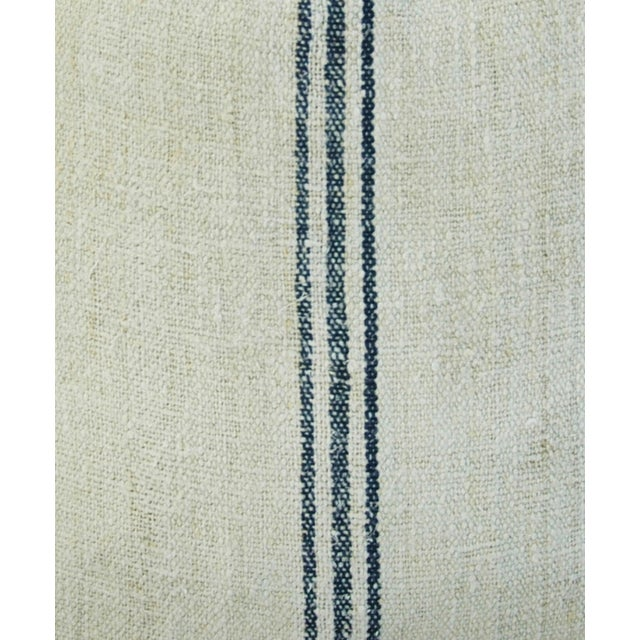 Custom French Grain Sack Down/Feather Pillow - Image 6 of 7