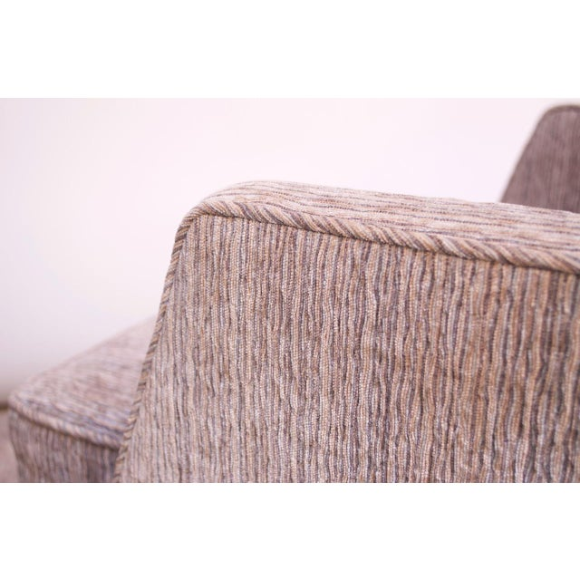 Edward Wormley for Dunbar Revolving Lounge Chair in Mahogany For Sale - Image 9 of 13