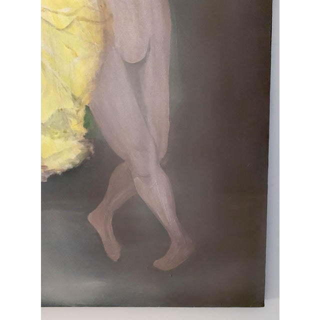 Large Oil on Canvas Painting - Dancers For Sale In New York - Image 6 of 8