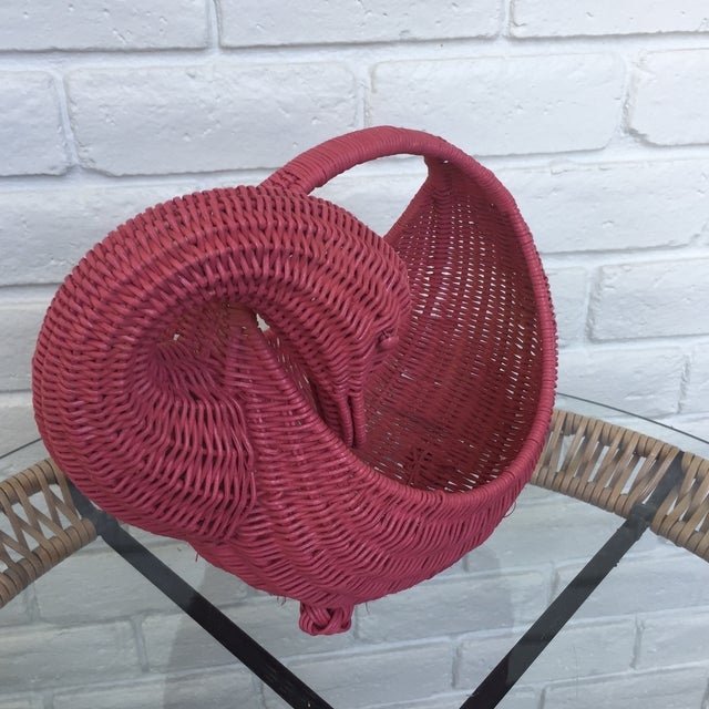 Red Swan Basket For Sale - Image 11 of 11