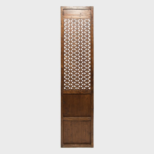 Set of 19th Century Chinese Four Treasure Lattice Panels For Sale In Chicago - Image 6 of 12