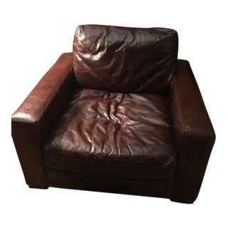 Restoration Hardware Maxwell Leather Chair
