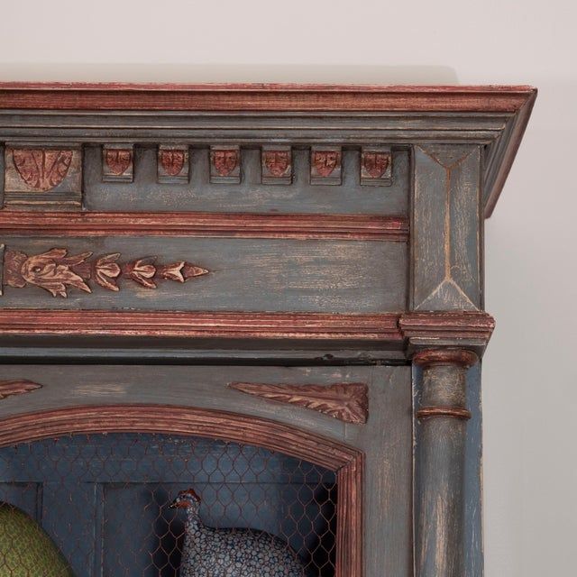 French Painted Bibliotheque For Sale - Image 4 of 10