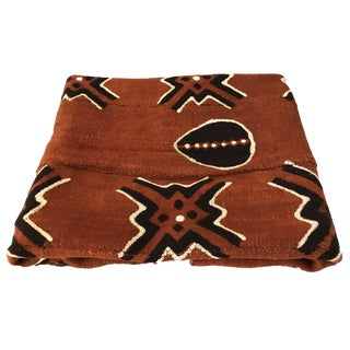 "Large Mud Cloth Textile Mali 40"" by 62"" For Sale"