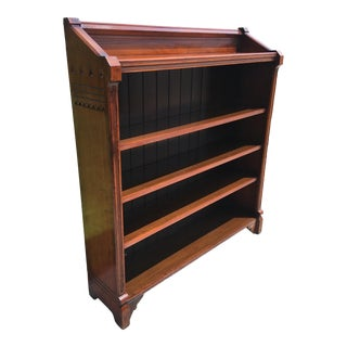 Arts and Crafts Cherry Wood Bookcase Circa 1910 For Sale