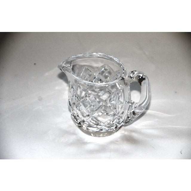 Waterford Waterford Crystal Lismore Petite Creamer For Sale - Image 4 of 4