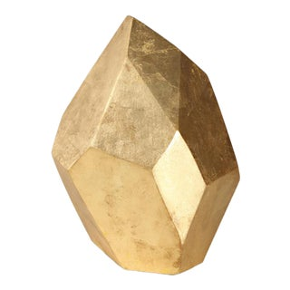Curated Kravet Wise Sculpture - Gold For Sale