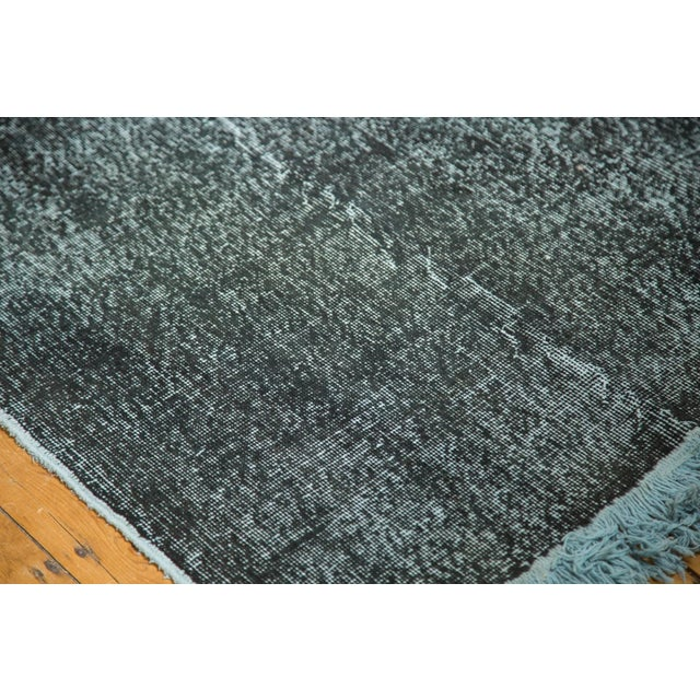 """Vintage Overdyed Distressed Runner - 5' X 13'3"""" - Image 4 of 10"""