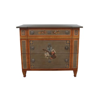 1970s Vintage Drexel Heritage Italian Style Hand Painted Chest of Drawers Preview
