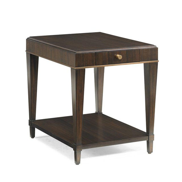2020s Capetown Square Side Table from Kenneth Ludwig Chicago For Sale - Image 5 of 5