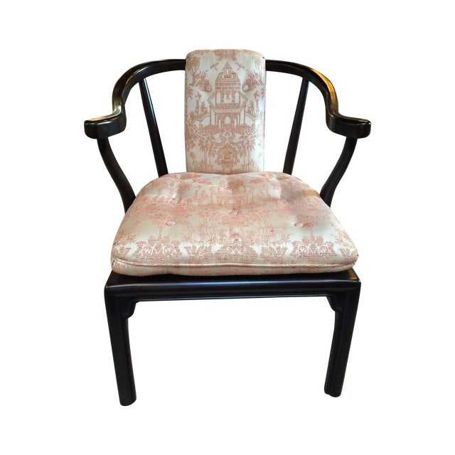 Heritage Chinoiserie Accent Chair - Image 1 of 10