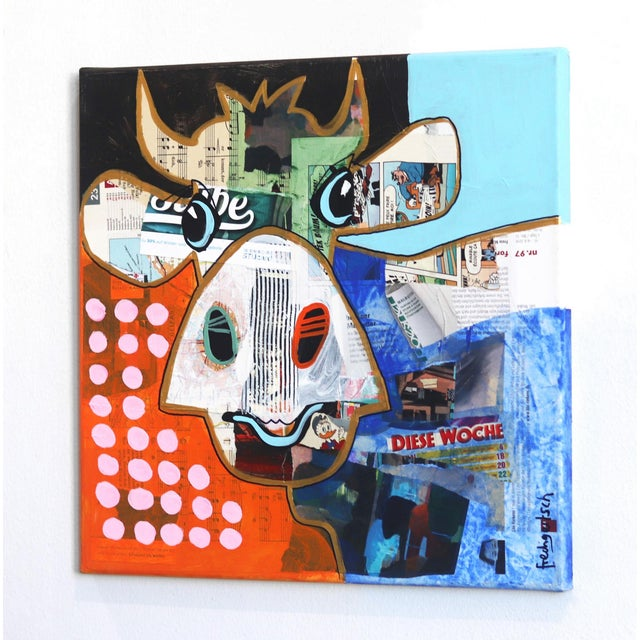 """Pop Art """"This Week"""" Original Artwork by Fredi Gertsch For Sale In Los Angeles - Image 6 of 9"""