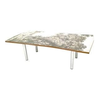"""Transepoca"" Wooden Coffee Table by Carmelo La Gaipa, Italy, 2018"