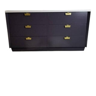 American of Martinsville/Hollywood Regency Painted Dresser