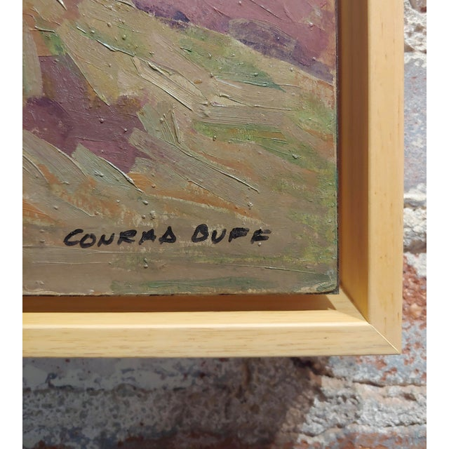 "Conrad Buff ""Rugged Cliffs Landscape"" Oil Painting For Sale In Los Angeles - Image 6 of 9"