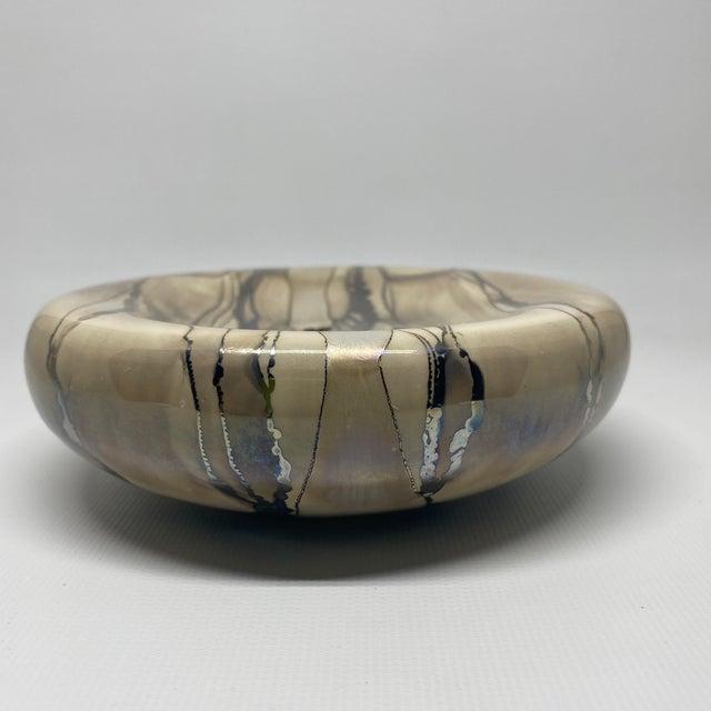 Champagne Vintage Nieslen Ceramic Soap Dish For Sale - Image 8 of 13