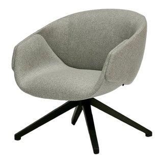 Modern Gray Anita Armchair For Sale