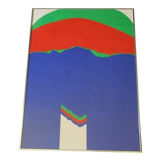 1972 Pop Art Silkscreen by Kramer For Sale