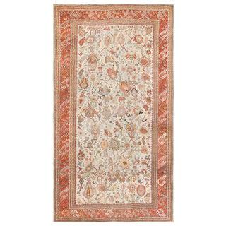 Antique Ghiordes Turkish Carpet - 10′8″ × 16′9″ For Sale