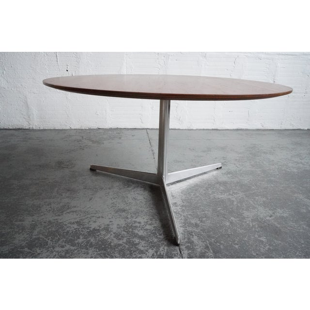 Mid-Century Modern Mid 20th Century Modern Arne Jacobsen Coffee Table For Sale - Image 3 of 5