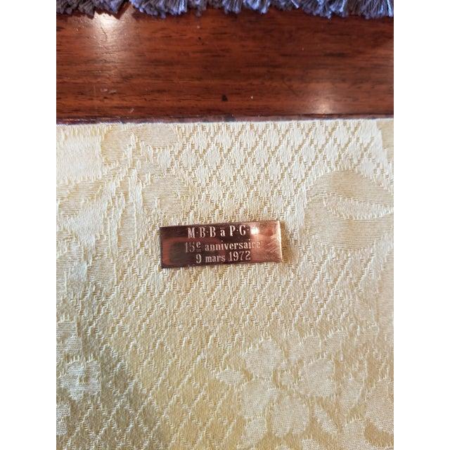 Antique Gilt Leather Double Folding Blotter For Sale - Image 12 of 13