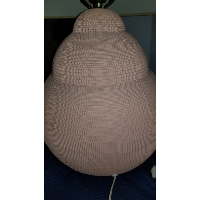 20th Century Gregory Van Pelt Cardboard Style Lamp For Sale In Cleveland - Image 6 of 10