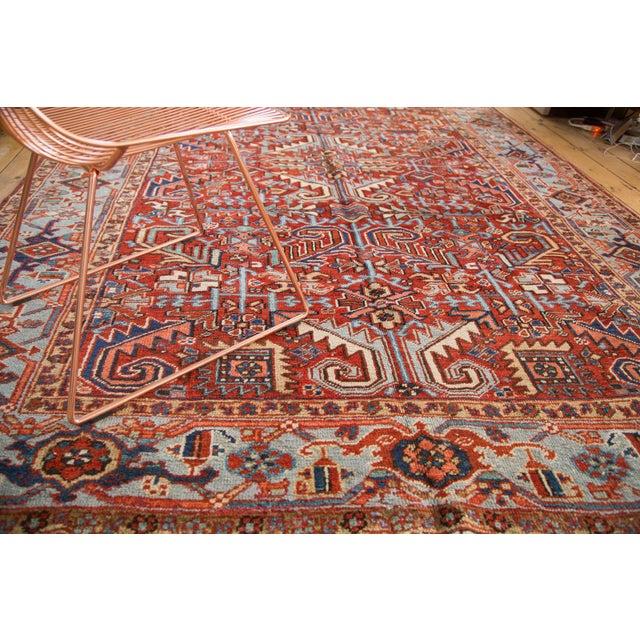 "Vintage Heriz Carpet - 6'11"" X 9'7"" - Image 8 of 8"