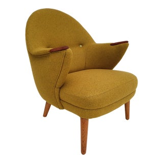 1960s Teakwood Danish Armchair For Sale