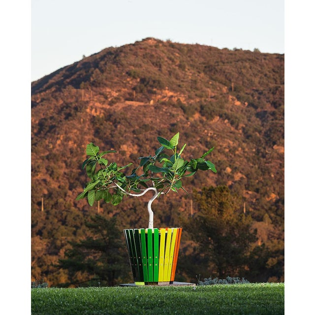 Customizable Plantum Acrylic Modular Planter Cover For Sale In Los Angeles - Image 6 of 8