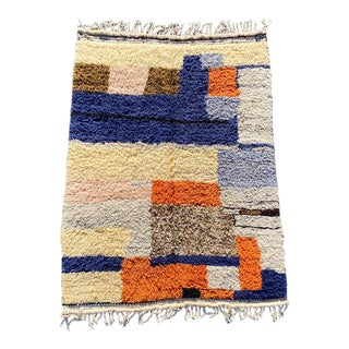 Modern Moroccan Berber Rug For Sale