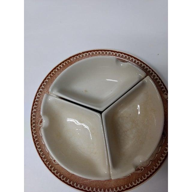 Ceramic European Porcelain Coffee Service Bowl For Sale - Image 7 of 13