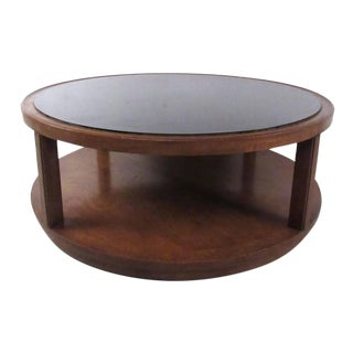 Vintage Modern Coffee Table by Dunbar For Sale
