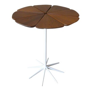 1960's Mid-Century Modern Richard Schultz for Knoll Associates Redwood Petal Table For Sale