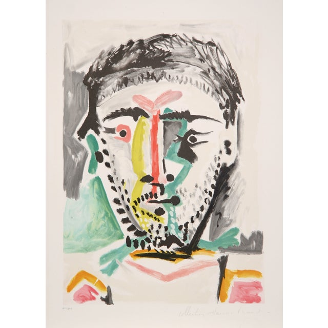 Pablo Picasso, Portrait D'Homme, Lithograph For Sale