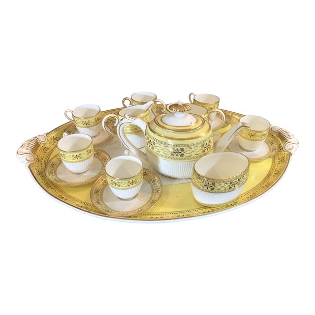 Bailey Banks Includes and Biddle Tea Set For Sale