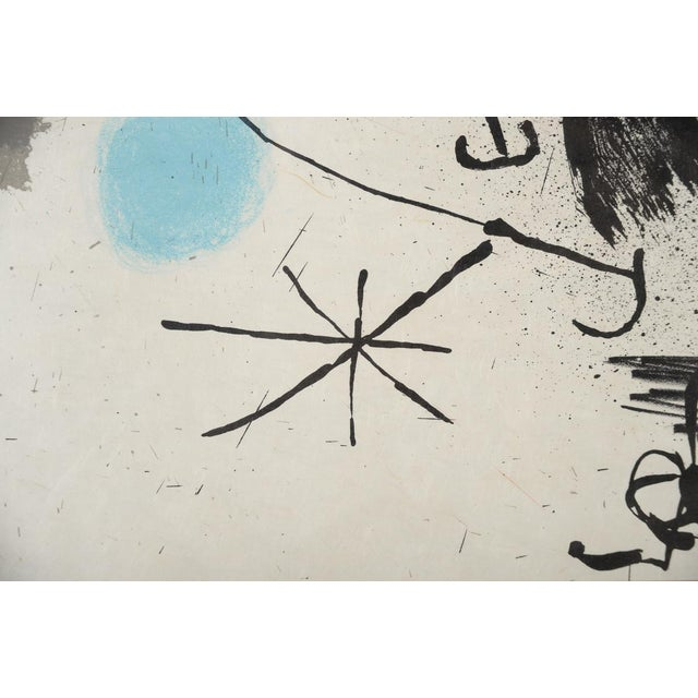 "Joan Miro ""Abstract"" Original Lithograph, Signed For Sale In Los Angeles - Image 6 of 10"