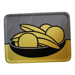 Roy Lichtenstein Banana & Grapefruits Tray